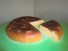 炊飯器でココナッツinチーズケーキ