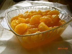 果汁100%伊予柑たっぷりオレンジゼリー