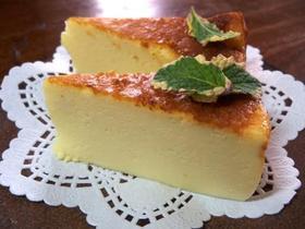 ブランデー梅酒のチーズケーキ