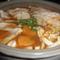かぼちゃと餃子のキムチ鍋