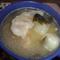 餃子と青梗菜のアジア3ヶ国風味のスープ