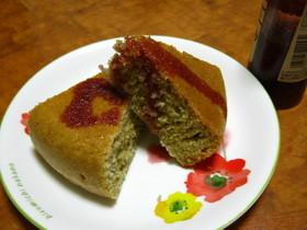 炊飯器ホットケーキ☆ラズベリー味♪