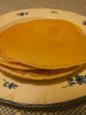 粉ミルクで☆もちもちジンジャーパンケーキ