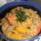圧力鍋でかぼちゃの中華風味雑炊