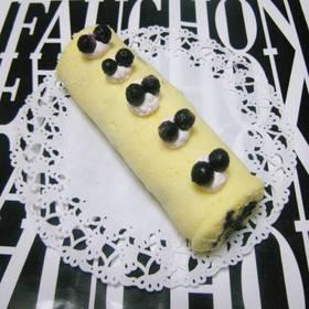*ルクエ❤ブルーベリー・ロールケーキ♪