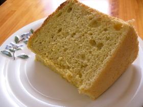 ピスタチオシフォンケーキ