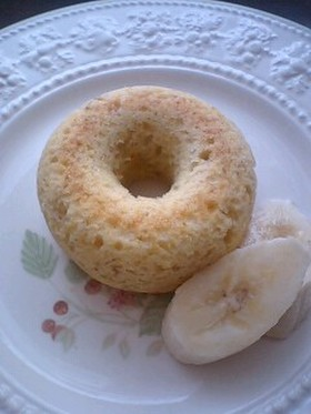 キャラメルバナナの焼きドーナツ