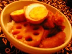 鶏手羽とゆで卵の黒酢煮