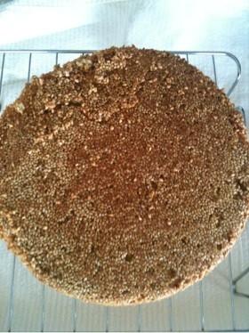セサミスポンジケーキ