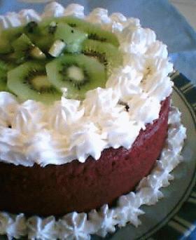 ふんわりキャラメルココアなスポンジケーキ(共立て)