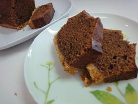 板チョコ2枚でふんわりチョコケーキ