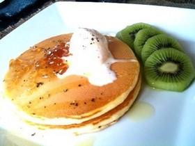 しあわせ朝ごはん☆スイートパンケーキ