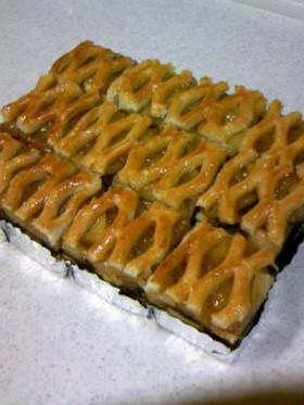 懐かしのりんごケーキ(アップルカバー風)