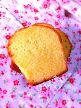 強力粉でパウンドケーキ♪