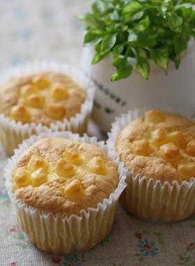 ちょっぴりオリーブオイルのカップケーキ