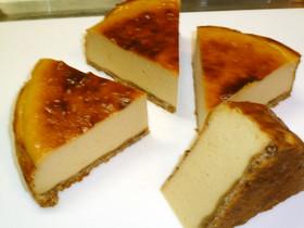 濃厚♪しっとりリッチなチーズケーキ