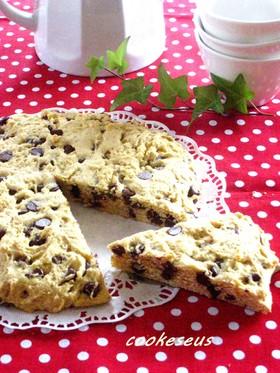 アメリカン♪チョコチップクッキーケーキ