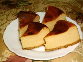 濃厚♪しとやわベイクドチーズケーキ