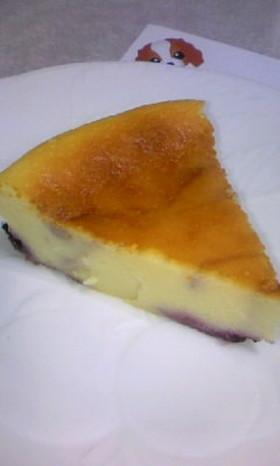 カシス入りヨーグルトチーズケーキ