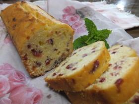 チーズ風味のヨーグルトパウンドケーキ★