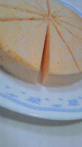 やっと成功☆スフレチーズケーキ