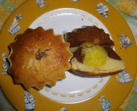 スイートポテトIn2色ケーキ
