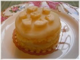 乳製品なしのワンコ用バースデーケーキ