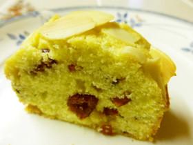 クランベリーとアーモンドのパウンドケーキ