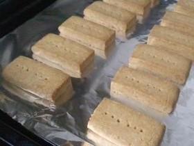 クッキー(サラダ油でショートブレッド)