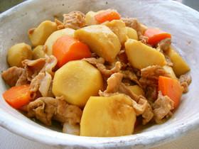 里芋と豚コマ肉のうま煮 by うまかっぺ [クックパッド] 簡単