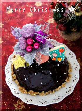 *クリスマス ★ ドームケーキショコラ♪