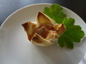 柿のシナモンチーズパンタルト