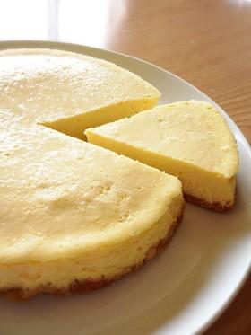 ラムとココナッツ香る濃厚チーズケーキ
