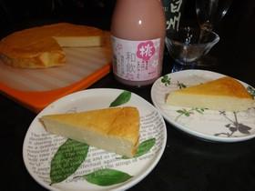 ヘルシー!豆腐ベイクドチーズケーキ