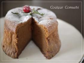 あんこのしっとりチョコケーキ