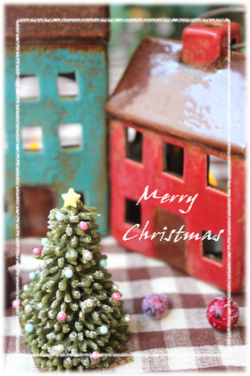 抹茶チョコのクリスマスツリー