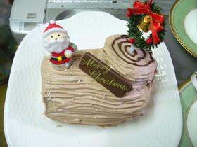 チョコレートケーキ ノエル HBで簡単