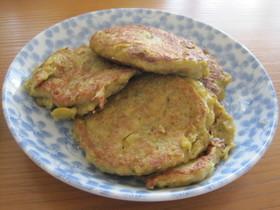 枝豆パンケーキ