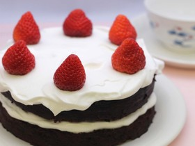 卵・乳不使用♡バレンタインチョコケーキ