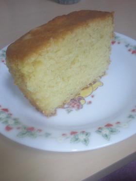 しっとリッチ♪レモンホワイトチョコケーキ