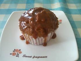 キャラメルバナナ★カップケーキ