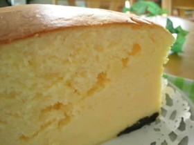 蒸し焼き♪スフレチーズケーキ
