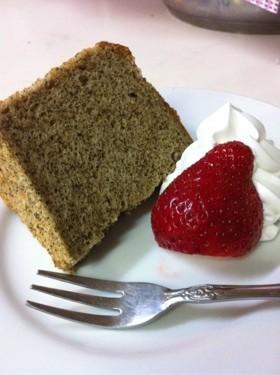 私流 HMでふわふわ紅茶のシフォンケーキ