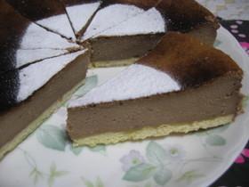 バレンタイン★チョコレートチーズケーキ