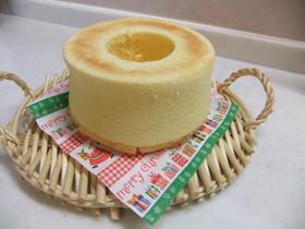 米粉のスフレ風なチーズシフォン