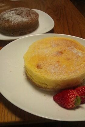 ふわふわ♡幸せスフレチーズケーキ