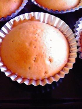 卵なし☆苺シロップのカップケーキ♪