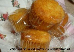ココナッツ♪米粉カップケーキ