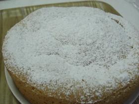 レモン風味のスポンジケーキ