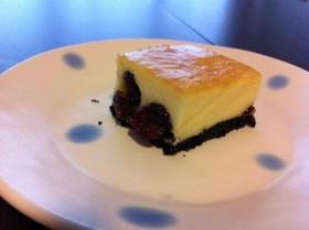 オレオクランベリーチーズケーキ
